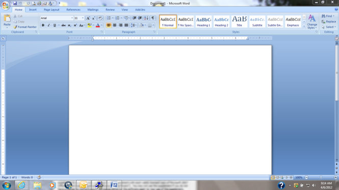 Microsoft Office 2007 Service Pack 3 (SP3) Screenshot