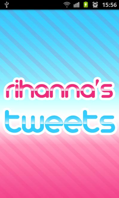 Celeb Twitter Tweets: Rihanna Screenshot