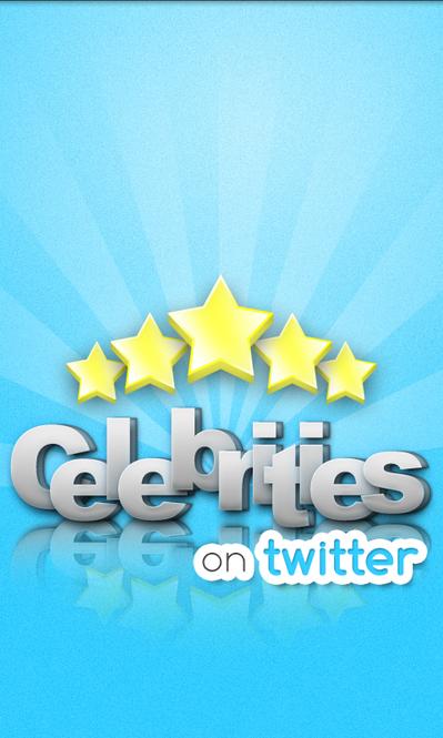 Celebrities on Twitter Screenshot