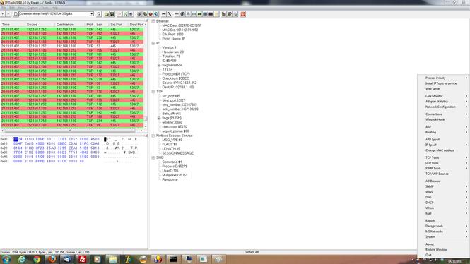 IP Tools (IP Sniffer) Screenshot