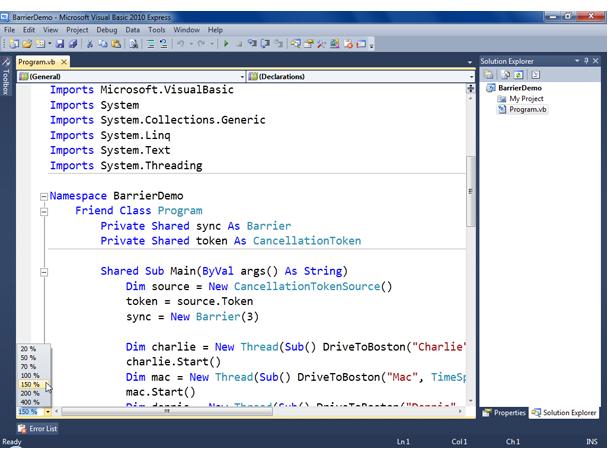 Visual Basic Screenshot 2