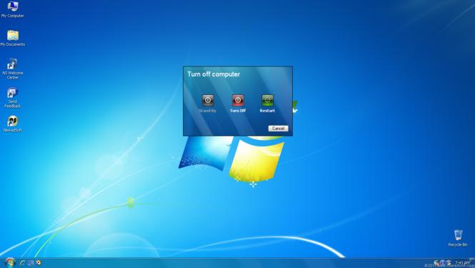 Seven Remix XP Screenshot