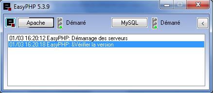 EasyPHP Screenshot