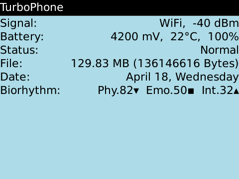 TurboPhone Screenshot
