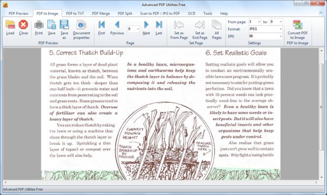 Advanced PDF Utilities Free Screenshot