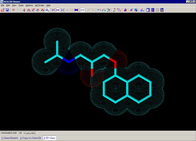 ChemSketch Screenshot