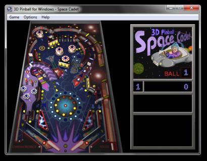 Microsoft 3D Pinball - Space Cadet Screenshot 1