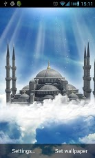 Blue Mosque Live Wallpaper Screenshot