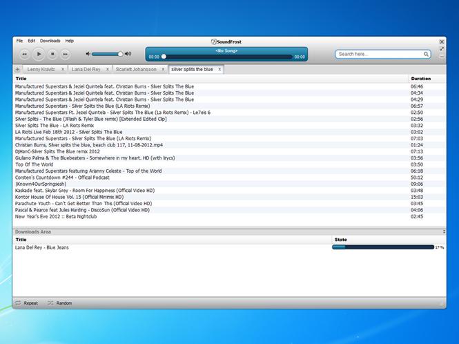 SoundFrost Screenshot