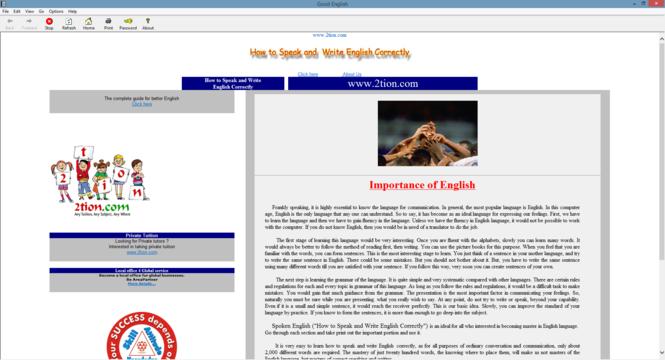 Spoken English Screenshot