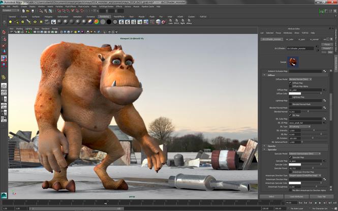 Autodesk Maya Screenshot