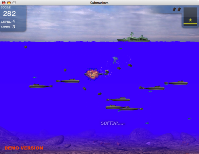 Submarines for Mac Screenshot 4