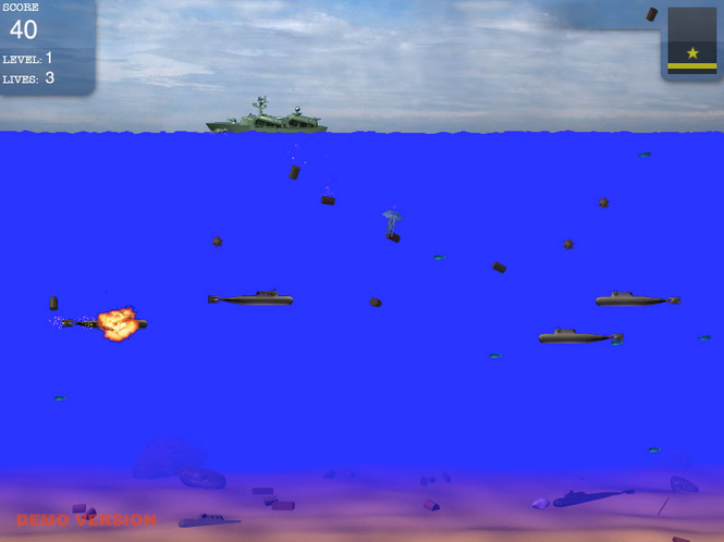Submarines for Mac Screenshot