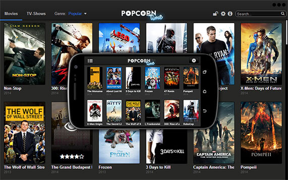 Popcorn Time Screenshot