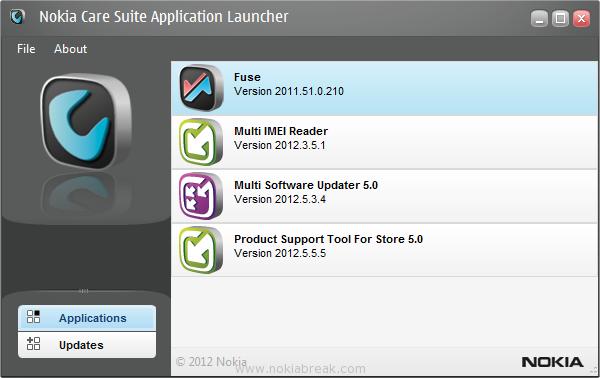 Nokia Care Suite Screenshot
