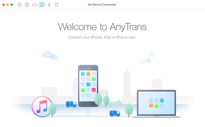 AnyTrans for Mac Screenshot