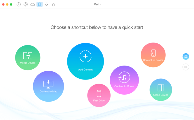AnyTrans for Mac Screenshot 2