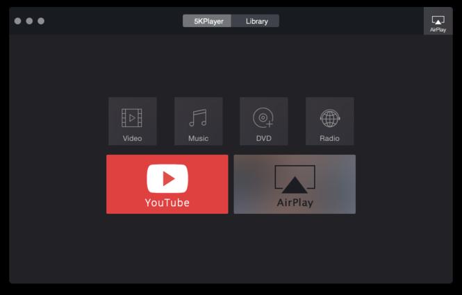 5KPlayer Screenshot