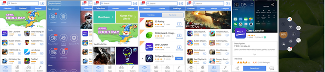 MoboMarket (for Android) Screenshot