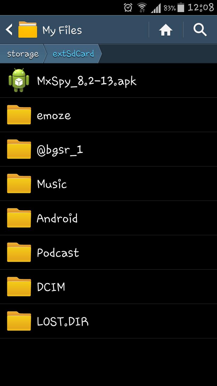 MxSpy Cell Phone Spy Screenshot 6