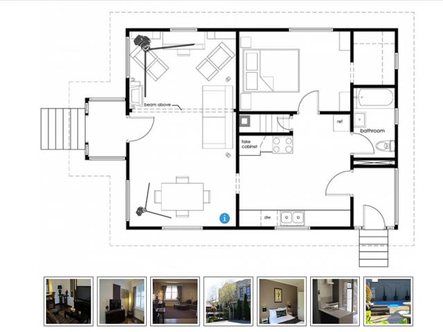 Interactive Floor Plan Software Screenshot