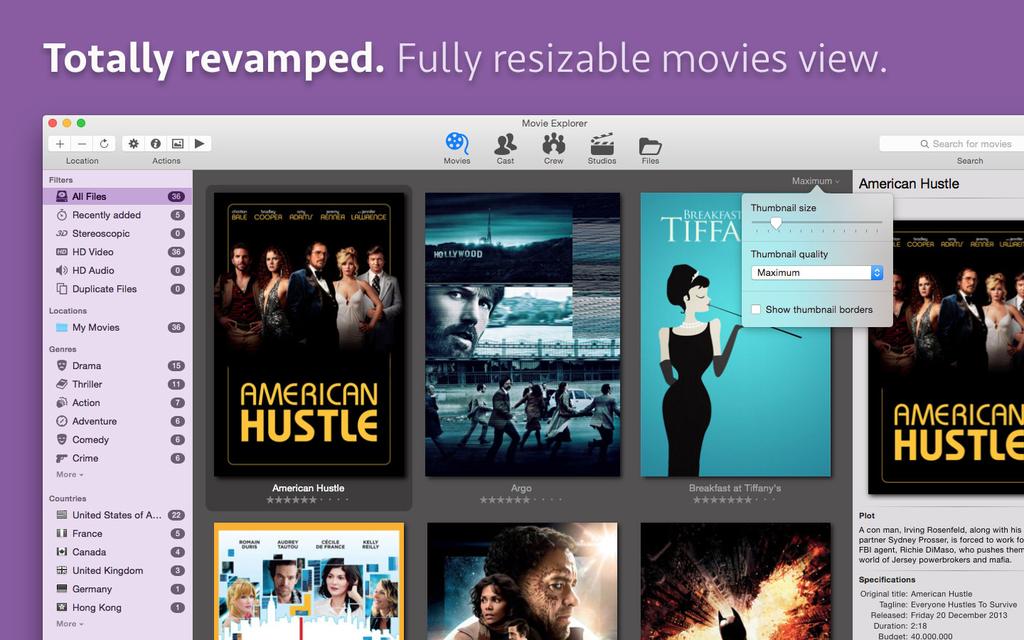 Movie voor Mac - Download