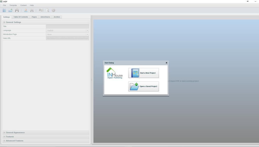 IHDP InHouse Digital Publishing Win/Mac Screenshot