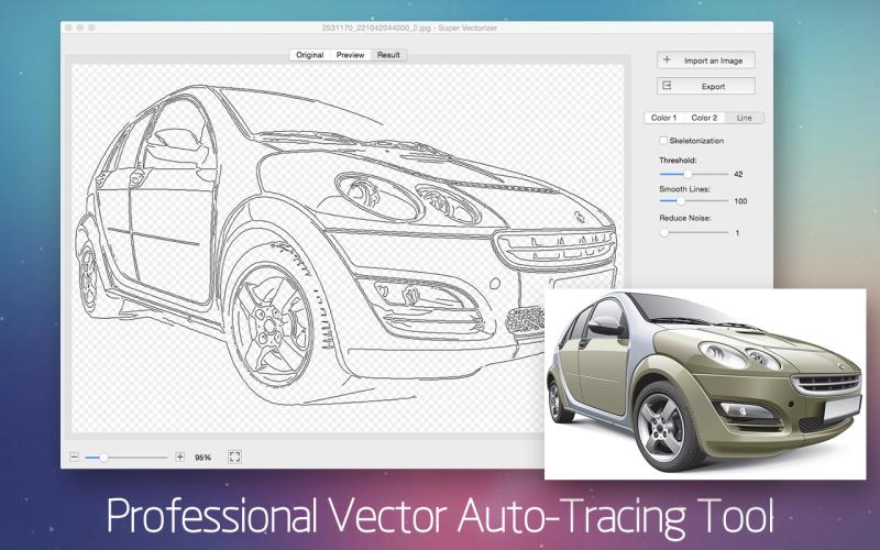 Super Vectorizer 2 for Mac Screenshot