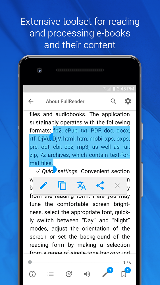 FullReader Screenshot 2