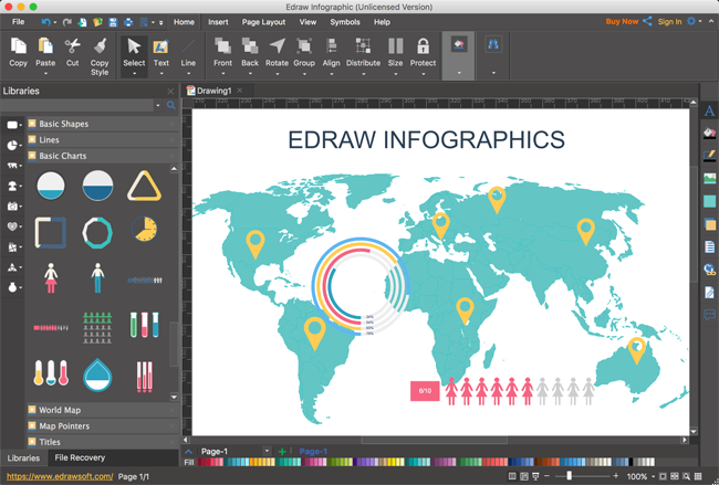 Create free infographics software