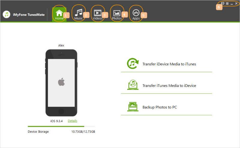 iMyFone TunesMate Screenshot