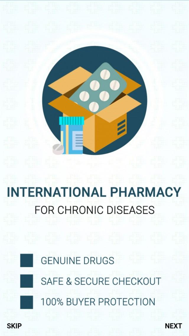 Drugssquare International Pharmacy Screenshot 2