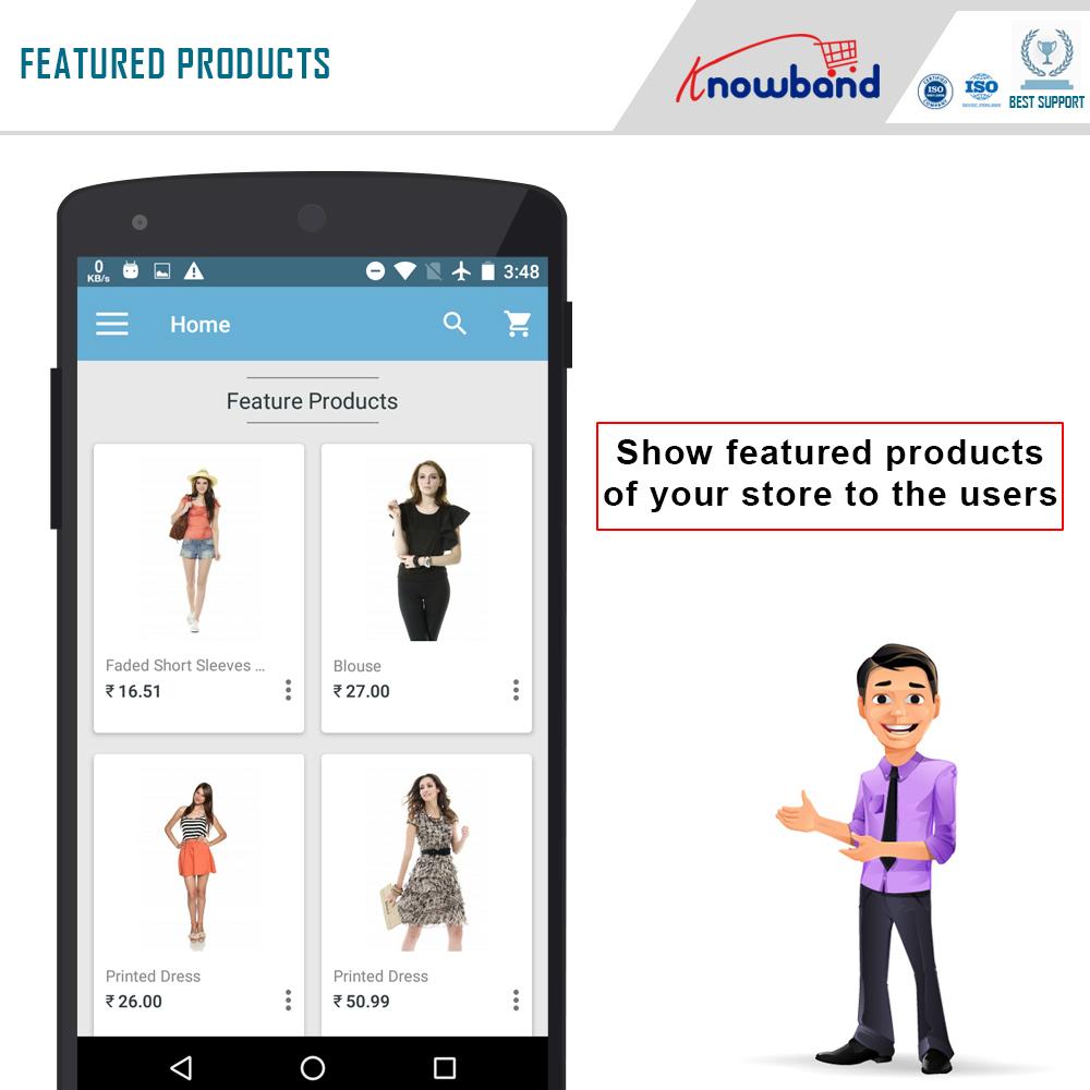 Prestashop mobile app builder Screenshot 3