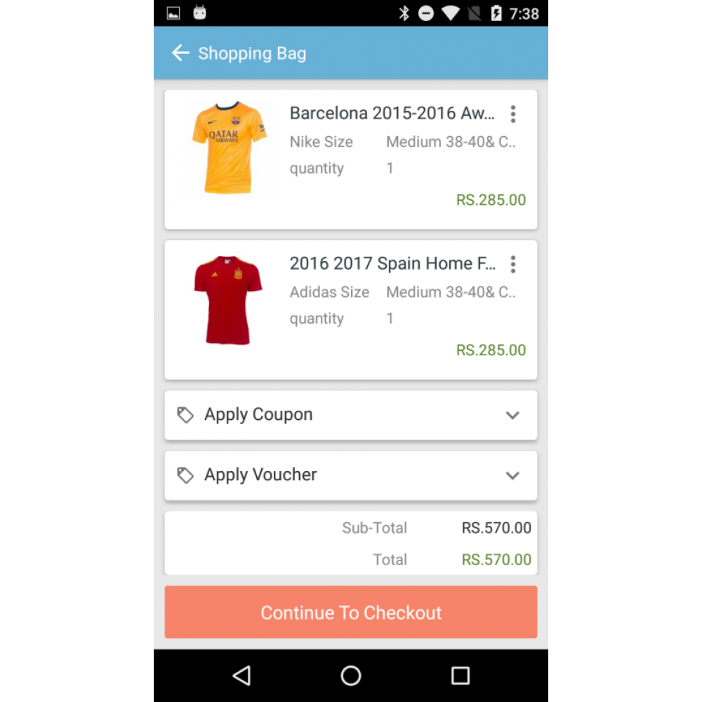 OpenCart Mobile App Builder 3
