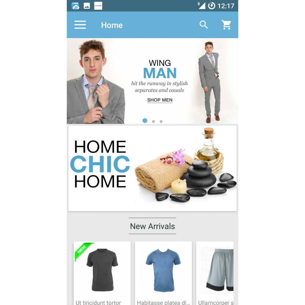 Magento Mobile App Builder Screenshot