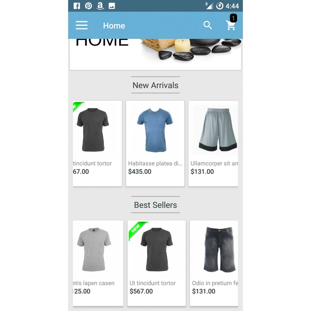 Magento Mobile App Builder Screenshot 2