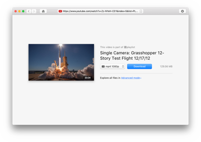 VideoDuke Screenshot