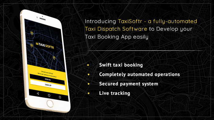 TaxiSoftr - Taxi Dispatch Software Screenshot