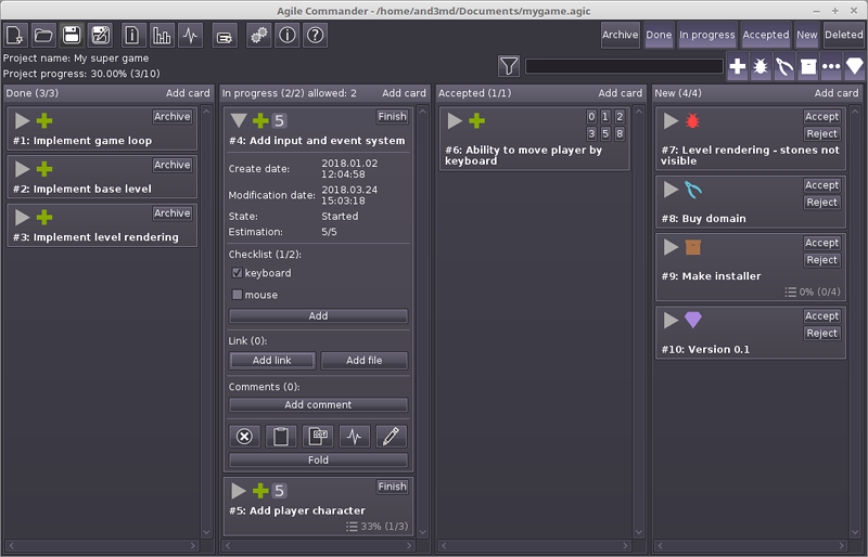 Agile Commander for Mac Screenshot