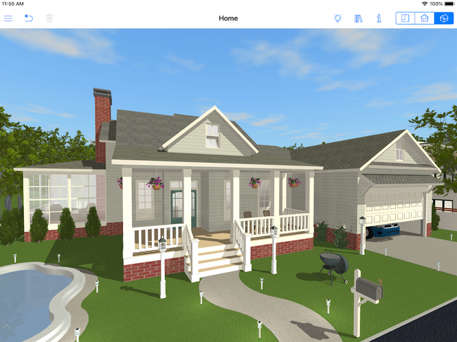Live Home 3D for iPhone, iPad Screenshot