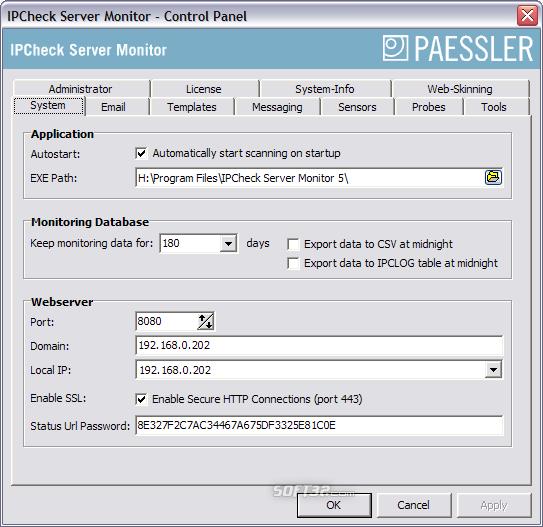 IPCheck Server Monitor Screenshot 2