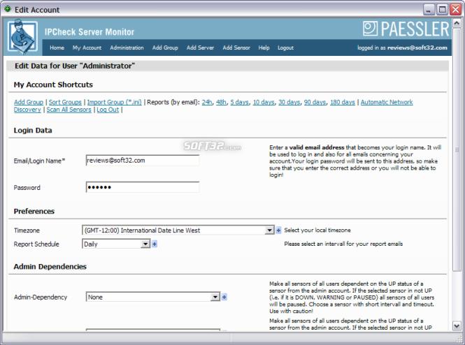 IPCheck Server Monitor Screenshot 4