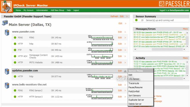 IPCheck Server Monitor Screenshot 6