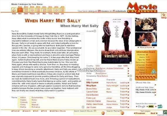 Movie Catalogue Screenshot 3