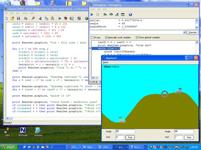 Liberty BASIC for Windows Screenshot