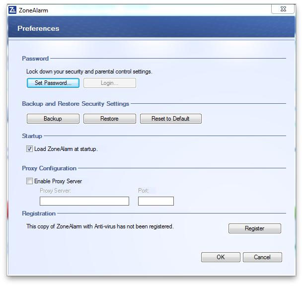 ZoneAlarm Antivirus Screenshot 2