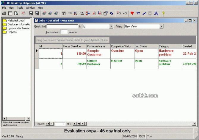 LBE Desktop Helpdesk Screenshot 3