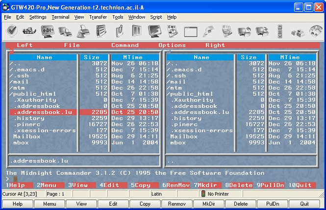 GTW420-Pro Screenshot 1