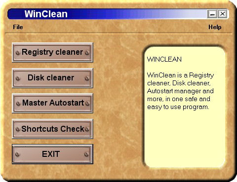 WinClean Screenshot 1