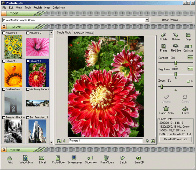 PhotoMeister Screenshot 1